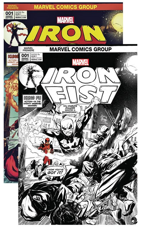 Iron Fist # 1 Cover A&B Noodle Variant